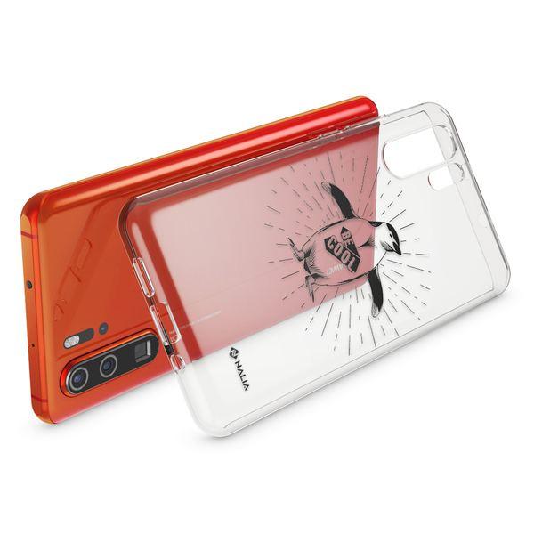 NALIA Hülle kompatibel mit Huawei P30 Pro, Motiv Handyhülle Ultra-Slim Silikon Case Crystal Cover Schutzhülle Durchsichtig, Dünne Handy-Tasche Backcover Transparent Bumper – Bild 9
