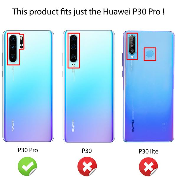 NALIA Hülle kompatibel mit Huawei P30 Pro, Motiv Handyhülle Ultra-Slim Silikon Case Crystal Cover Schutzhülle Durchsichtig, Dünne Handy-Tasche Backcover Transparent Bumper – Bild 25