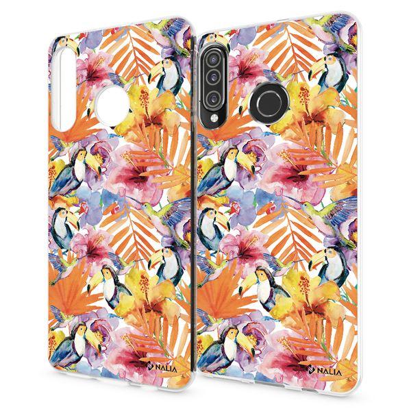 NALIA Hülle kompatibel mit Huawei P30 Lite, Motiv Handyhülle Ultra-Slim Silikon Case Crystal Cover Schutzhülle Durchsichtig, Dünne Handy-Tasche Backcover Transparent Bumper – Bild 25