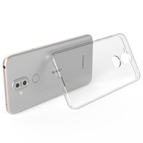 NALIA Hülle kompatibel mit Nokia 8.1, Ultra-Slim Crystal Phone Case Clear Silikon Handyhülle Soft Cover, Dünne Handy-Tasche Schutzhülle Etui Smartphone Bumper Skin Durchsichtig - Transparent – Bild 5