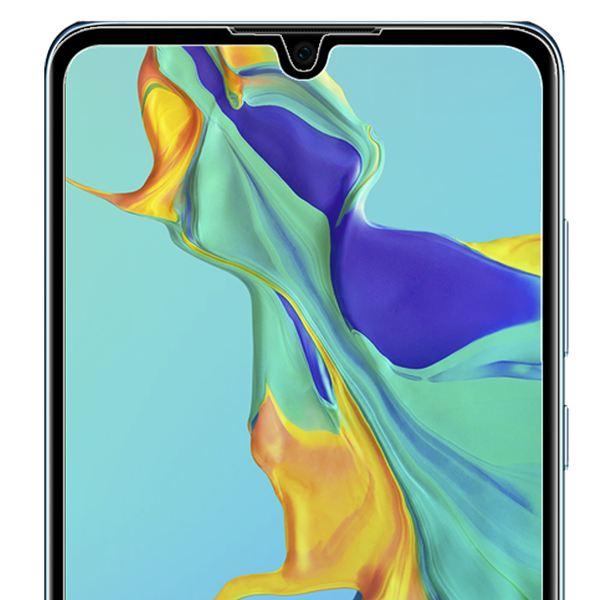 NALIA Schutzglas kompatibel mit Huawei P30, 9H HD Full-Cover Display Schutz Glas-Folie Dünn, Dünne LCD Handy Schutzfolie Bildschirm-Abdeckung Schutz-Film Screen Protector Tempered Glass - Transparent – Bild 3