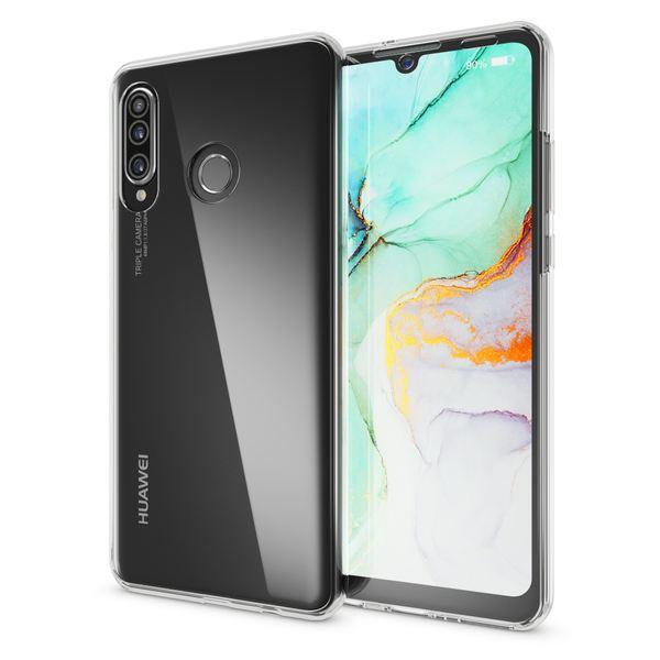 NALIA 360 Grad Handyhülle kompatibel mit Huawei P30 Lite, Dünne Full-Body Silikon Hülle Rundum Cover Case, Ultra-Slim Schutzhülle Handy-Tasche, Phone Komplett-Schutz & Displayschutz – Bild 5