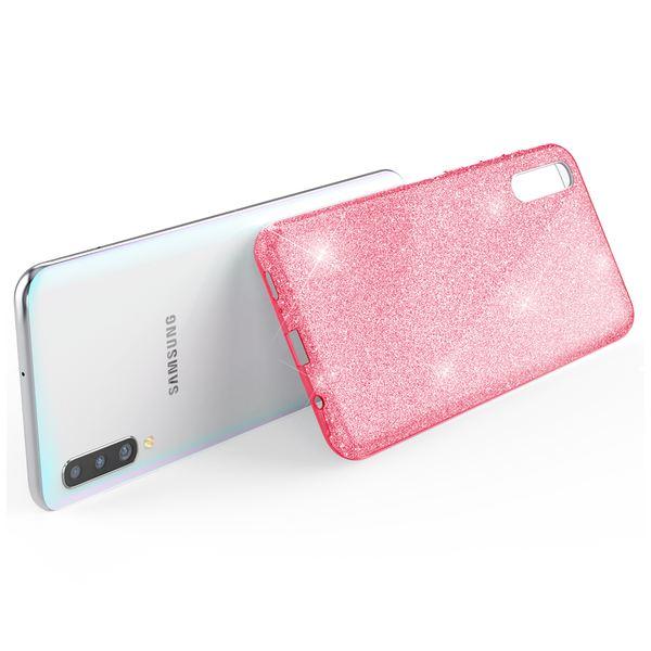 NALIA Glitzer Hülle kompatibel mit Samsung Galaxy A50, Diamant Schutzhülle Glitter Case Bling Cover Silikon Handyhülle Dünn, Ultra-Slim Phone Backcover Handy-Tasche Diamond Bumper Etui – Bild 14
