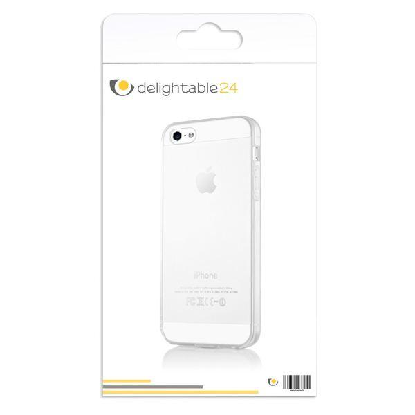 NALIA Handyhülle kompatibel mit iPhone 5 5S SE, Ultra-Slim Silikon Case Cover Schutzhülle Dünn Durchsichtig, Handy-Tasche Telefon-Schale Skin Back-Cover Etui Smart-Phone Bumper - Transparent – Bild 7