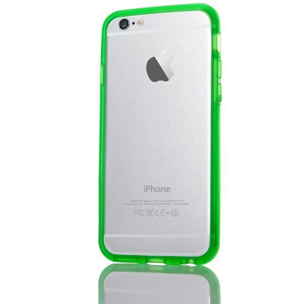NALIA Bumper iPhone 6 6S, Dünner Rutschfester Silikon Rahmen Soft & Ultra-Slim Protector, Stoßfester Rugged Phone TPU Gel Gummi Schutz-Rand für Apple iPhone 6 6S Smartphone – Bild 23