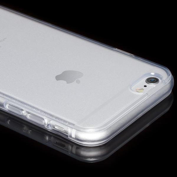 NALIA Handyhülle kompatibel mit iPhone 6 6S, Ultra-Slim Silikon Case Crystal Schutz-Hülle Dünn Durchsichtig, Handy-Tasche Telefon-Schale Back-Cover Skin Thin-Fit Bumper Smart-Phone - Transparent – Bild 3