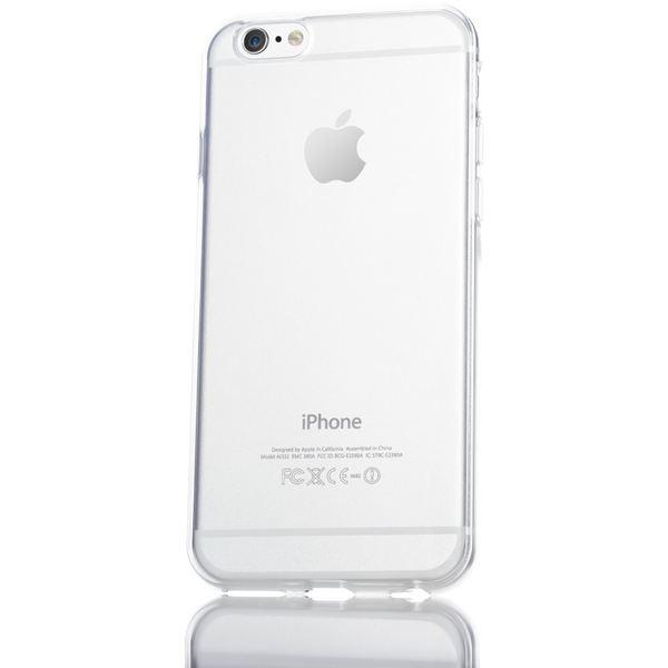 NALIA Handyhülle kompatibel mit iPhone 6 6S, Ultra-Slim Silikon Case Crystal Schutz-Hülle Dünn Durchsichtig, Handy-Tasche Telefon-Schale Back-Cover Skin Thin-Fit Smart-Phone Bumper - Transparent – Bild 5