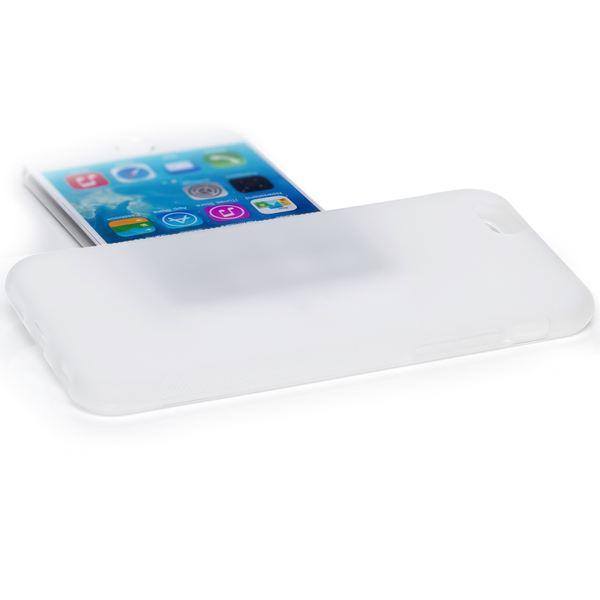 NALIA Handyhülle kompatibel mit iPhone 6 6S, Ultra-Slim Silikon Case Cover Gummihülle, Matte Anti-Rutsch Schutz-Hülle Dünn Etui Handy-Tasche Telefon-Schale Back-Cover Smart-Phone Bumper - Transparent – Bild 2