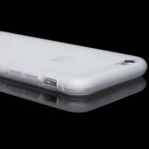 NALIA Handyhülle kompatibel mit iPhone 6 6S, Ultra-Slim Silikon Case Cover Gummihülle, Matte Anti-Rutsch Schutz-Hülle Dünn Etui Handy-Tasche Telefon-Schale Back-Cover Smart-Phone Bumper - Transparent – Bild 3