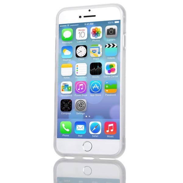 NALIA Handyhülle kompatibel mit iPhone 6 6S, Ultra-Slim Silikon Case Cover Gummihülle, Matte Anti-Rutsch Schutz-Hülle Dünn Etui Handy-Tasche Telefon-Schale Back-Cover Smart-Phone Bumper - Transparent – Bild 6