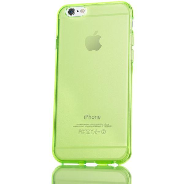 NALIA Handyhülle kompatibel mit iPhone 6 Plus 6S Plus, Ultra-Slim Silikon Case Cover Crystal Schutz-Hülle Dünn Durchsichtig, Etui Handy-Tasche Back-Cover Transparent Phone Bumper - Grün Transparent – Bild 5