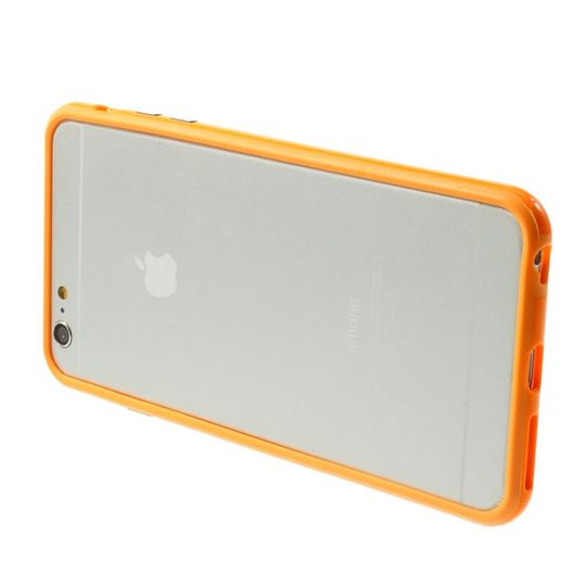 delightable24 Bumper PC & TPU Silikon für Apple iPhone 6 PLUS / 6S PLUS - Orange – Bild 3