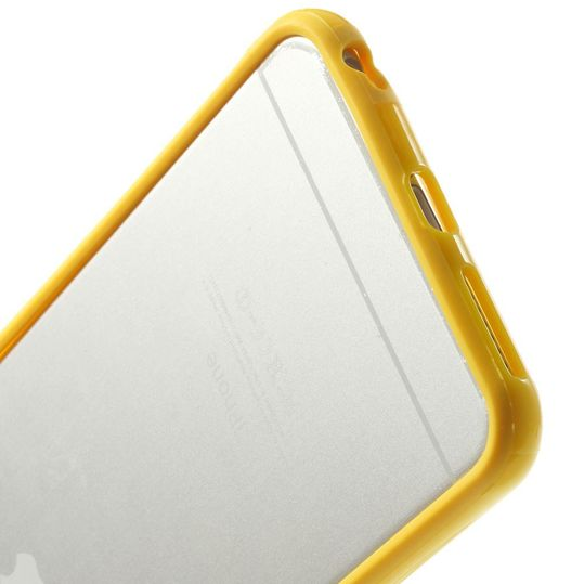 delightable24 Bumper PC & TPU Silikon für Apple iPhone 6 PLUS / 6S PLUS - Gelb – Bild 5