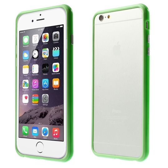 delightable24 Bumper PC & TPU Silikon für Apple iPhone 6 PLUS / 6S PLUS - Grün – Bild 1