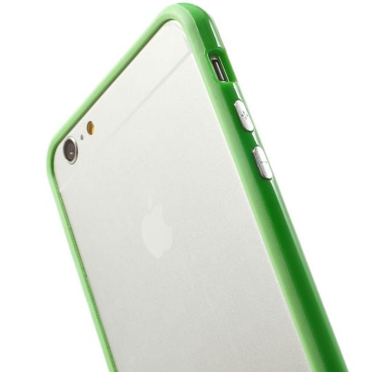 delightable24 Bumper PC & TPU Silikon für Apple iPhone 6 PLUS / 6S PLUS - Grün – Bild 5