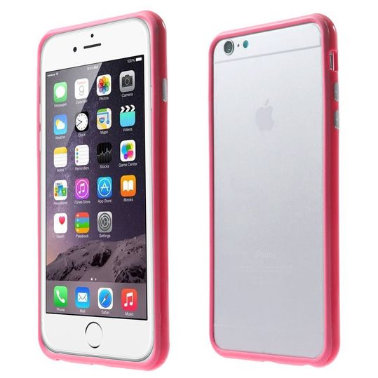 delightable24 Bumper PC & TPU Silikon für Apple iPhone 6 PLUS / 6S PLUS - Pink – Bild 1
