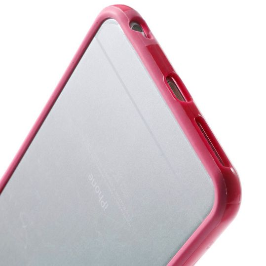 delightable24 Bumper PC & TPU Silikon für Apple iPhone 6 PLUS / 6S PLUS - Pink – Bild 4