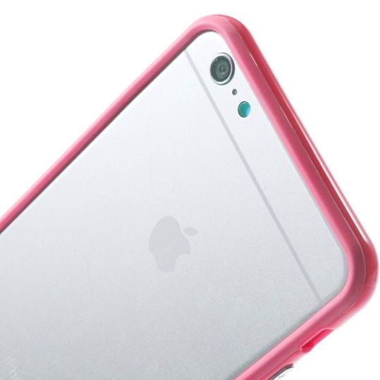 delightable24 Bumper PC & TPU Silikon für Apple iPhone 6 PLUS / 6S PLUS - Pink – Bild 5