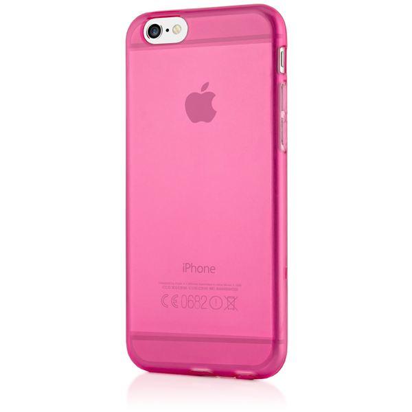 NALIA Handyhülle kompatibel mit iPhone 6 6S, Ultra-Slim Silikon Case Crystal Schutz-Hülle Dünn Durchsichtig, Handy-Tasche Etui Telefon-Schale Back-Cover Thin-Fit Smart-Phone Bumper - Pink Transparent – Bild 5