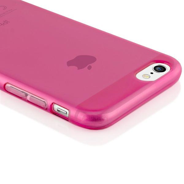 NALIA Handyhülle kompatibel mit iPhone 6 6S, Ultra-Slim Silikon Case Crystal Schutz-Hülle Dünn Durchsichtig, Handy-Tasche Etui Telefon-Schale Back-Cover Thin-Fit Smart-Phone Bumper - Pink Transparent – Bild 3