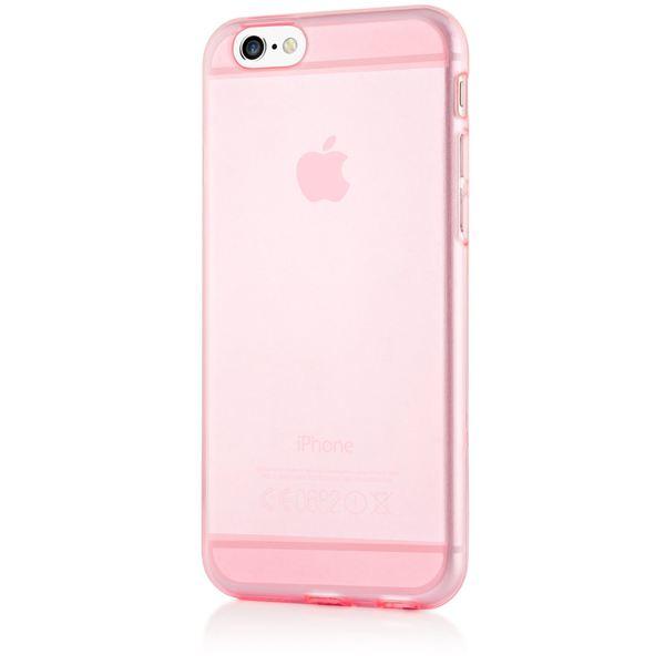 NALIA Handyhülle kompatibel mit iPhone 6 6S, Ultra-Slim Silikon Case Crystal Schutz-Hülle Dünn Durchsichtig, Handy-Tasche Telefon-Schale Back-Cover Thin Smart-Phone Bumper - Rosa / Pink Transparent – Bild 5