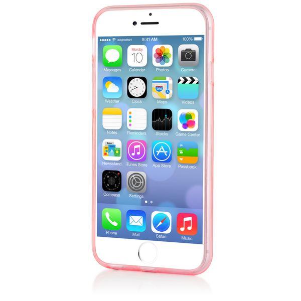 NALIA Handyhülle kompatibel mit iPhone 6 6S, Ultra-Slim Silikon Case Crystal Schutz-Hülle Dünn Durchsichtig, Handy-Tasche Telefon-Schale Back-Cover Thin Smart-Phone Bumper - Rosa / Pink Transparent – Bild 6