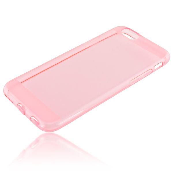 NALIA Handyhülle kompatibel mit iPhone 6 6S, Ultra-Slim Silikon Case Crystal Schutz-Hülle Dünn Durchsichtig, Handy-Tasche Telefon-Schale Back-Cover Thin Smart-Phone Bumper - Rosa / Pink Transparent – Bild 2