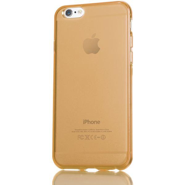 NALIA Handyhülle kompatibel mit iPhone 6 Plus 6S Plus, Ultra-Slim Silikon Case Cover Crystal Schutz-Hülle Dünn Durchsichtig, Etui Handy-Tasche Back-Cover Transparent Phone Bumper - Gold Champagner – Bild 5