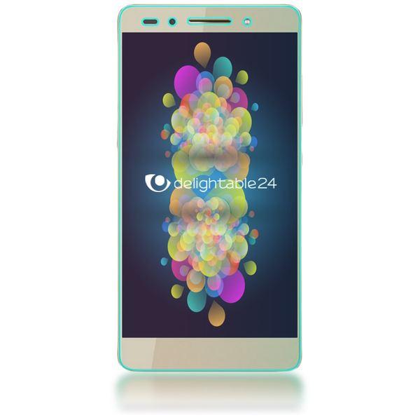 NALIA Schutzglas kompatibel mit Huawei Honor 7, Full-Cover Displayschutz Handy-Folie, 9H Härte Glas-Schutzfolie Bildschirm-Abdeckung Schutz-Film Phone HD Screen Protector Tempered Glass - Transparent – Bild 6