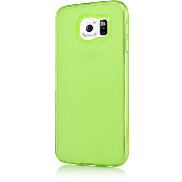 NALIA Handyhülle kompatibel mit Samsung Galaxy S6, Ultra-Slim Silikon Case Hülle Cover Crystal Schutzhülle Dünn Durchsichtig, Etui Handy-Tasche Schale Back-Cover Smart-Phone Bumper - Grün Transparent – Bild 5