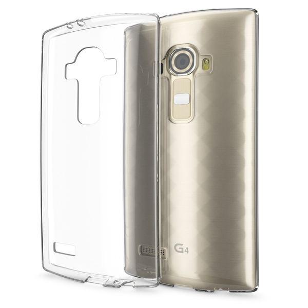 NALIA Handyhülle für LG G4, Slim Silikon Case Cover Crystal Clear Schutzhülle Dünn Durchsichtig, Etui Handy-Tasche Backcover Transparent, Phone Schutz Rückseite Bumper Silikonhülle für LG G-4 – Bild 1