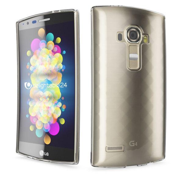 NALIA Handyhülle für LG G4, Slim Silikon Case Cover Crystal Clear Schutzhülle Dünn Durchsichtig, Etui Handy-Tasche Backcover Transparent, Phone Schutz Rückseite Bumper Silikonhülle für LG G-4 – Bild 3