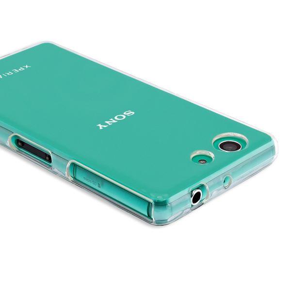 NALIA Handyhülle kompatibel mit Sony Xperia Z3 Compact, Soft Slim TPU Silikon Case Cover Clear Schutzhülle Dünn Durchsichtig, Etui Handy-Tasche Backcover Transparent, Phone Schutz Bumper – Bild 4