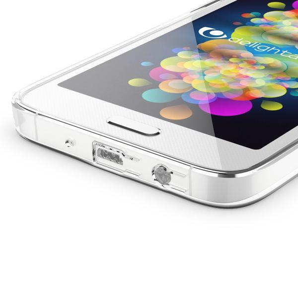 NALIA Handyhülle kompatibel mit Samsung Galaxy A3 2015, Durchsichtige Slim Silikon Case Hülle, Transparente Rückseite & Bumper, Schutzhülle Etui Dünn Handy-Tasche Thin-Fit Back-Cover - Transparent  – Bild 3