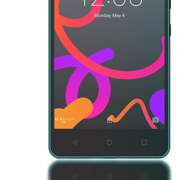 NALIA Schutzglas für BQ Aquaris M5, Full-Cover Displayschutz Handy-Folie, 9H gehärtete Glas-Schutzfolie Bildschirm-Abdeckung, Schutz-Film Phone HD Screen Protector Tempered Glass - Transparent – Bild 5