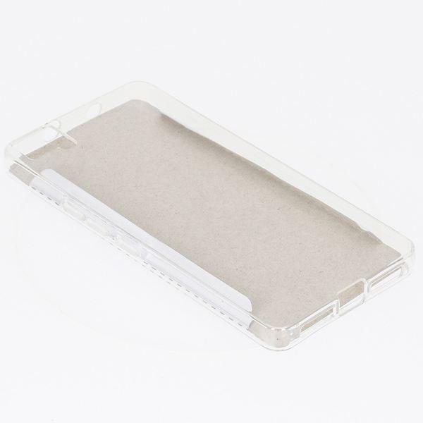 NALIA Handyhülle kompatibel mit BQ Aquaris M5, Soft Slim TPU Silikon Case Cover Hülle Crystal Clear Schutzhülle Dünn Durchsichtig, Etui Handy-Tasche Back-Cover Smart-Phone Schutz Bumper - Transparent – Bild 3