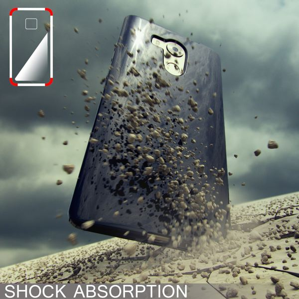 NALIA Handyhülle kompatibel mit Huawei Mate 8, Ultra-Slim Silikon Case Cover Dünn Crystal Schutz-Hülle, Etui Handy-Tasche Back-Cover Bumper Soft TPU Thin Smart-Phone Gummi-Hülle - Transparent / Pink – Bild 5