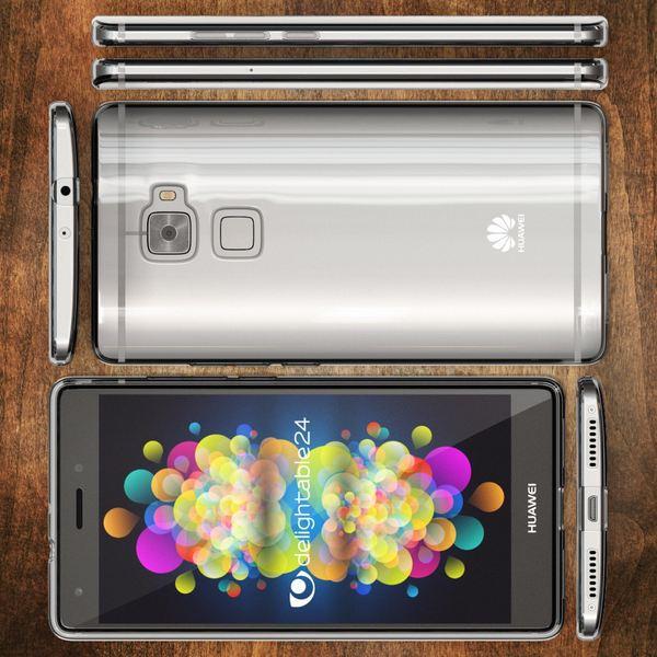 NALIA Handyhülle für Huawei Mate S, Soft Slim TPU Silikon Case Cover Hülle Crystal Clear Schutzhülle Dünn Durchsichtig, Etui Handy-Tasche Backcover Transparent, Phone Schutz Bumper für Huawei Mate-S – Bild 6