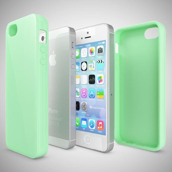NALIA Schutzhülle iPhone SE 5 5S, Ultra-Slim TPU Silikon Jelly Case, Dünnes Cover Gummi Schutzhülle Skin, Etui Handy-Tasche Backcover Bumper für Apple iPhone 5 5S SE Phone - Mint Grün – Bild 4