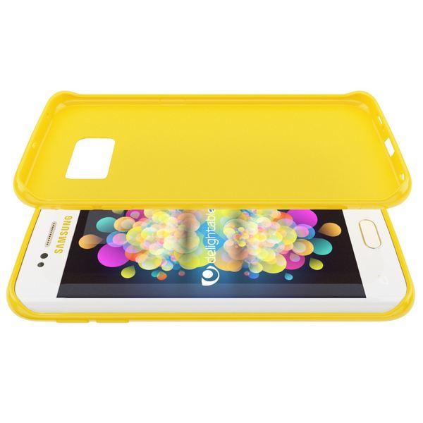 NALIA Handyhülle kompatibel mit Samsung Galaxy S6 Edge Plus, Ultra-Slim TPU Silikon Jelly Case Hülle, Dünne Gummi Schutzhülle Skin, Handy-Tasche Telefon-Schale Back-Cover Smart-Phone Bumper - Gelb – Bild 4