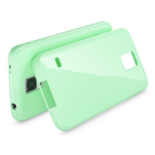 NALIA Handyhülle kompatibel mit Samsung Galaxy S5 S5 Neo, Ultra-Slim TPU Silikon Jelly Case Hülle, Dünne Cover Gummi Schutzhülle Skin, Etui Handy-Tasche Back-Cover Smart-Phone Bumper - Mint Grün – Bild 2