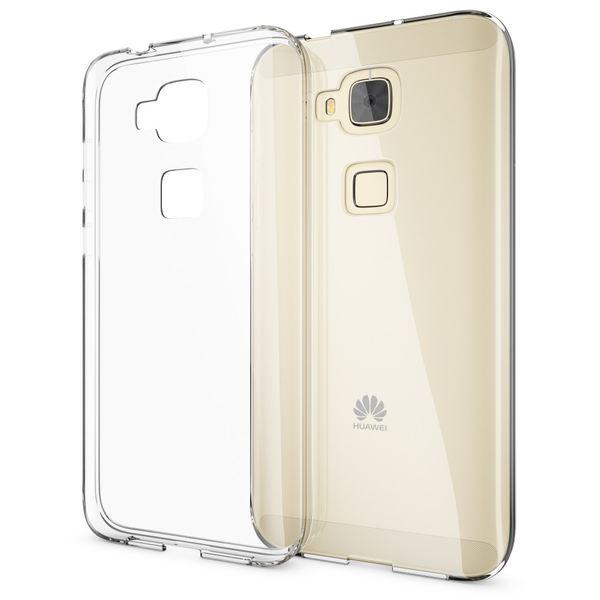 NALIA Handyhülle kompatibel mit Huawei G8 GX8, Soft Slim TPU Silikon Case Cover Hülle Crystal Clear Schutzhülle Dünn Durchsichtig, Etui Handy-Tasche Back-Cover Smart-Phone Schutz Bumper - Transparent – Bild 1