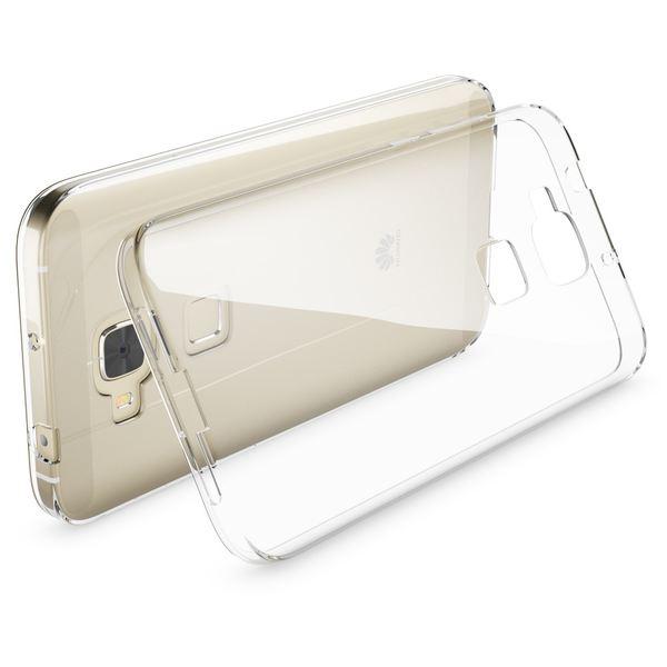 NALIA Handyhülle kompatibel mit Huawei G8 GX8, Soft Slim TPU Silikon Case Cover Hülle Crystal Clear Schutzhülle Dünn Durchsichtig, Etui Handy-Tasche Back-Cover Smart-Phone Schutz Bumper - Transparent – Bild 2