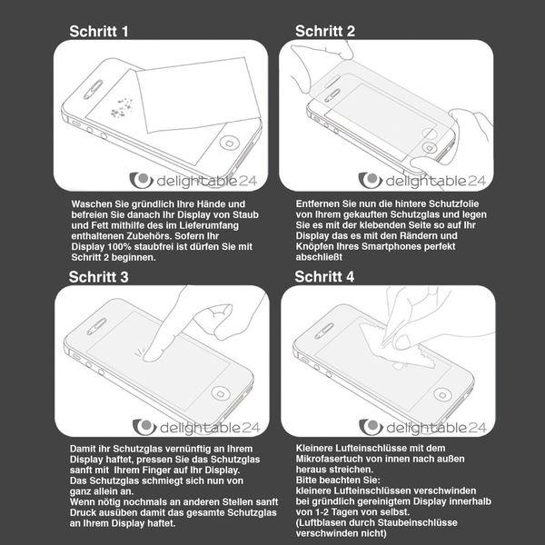 NALIA Schutzglas kompatibel mit Samsung Galaxy A5 (2015), Full-Cover Displayschutz Handy-Folie, 9H Glas-Schutzfolie Bildschirm-Abdeckung, Schutz-Film HD Screen Protector Tempered Glass - Transparent – Bild 9