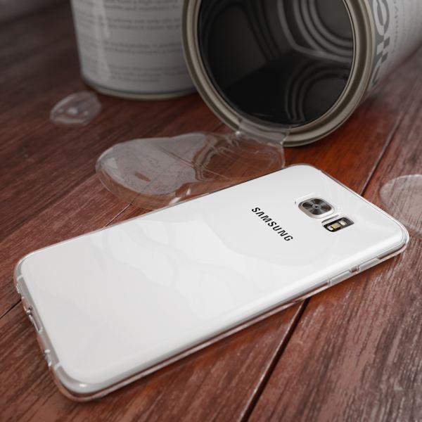 NALIA Handyhülle kompatibel mit Samsung Galaxy S7 Edge, Ultra-Slim Silikon Case Hülle Crystal Schutzhülle Dünn Durchsichtig, Handy-Tasche Telefon-Schale Back-Cover Smart-Phone Bumper - Transparent – Bild 4