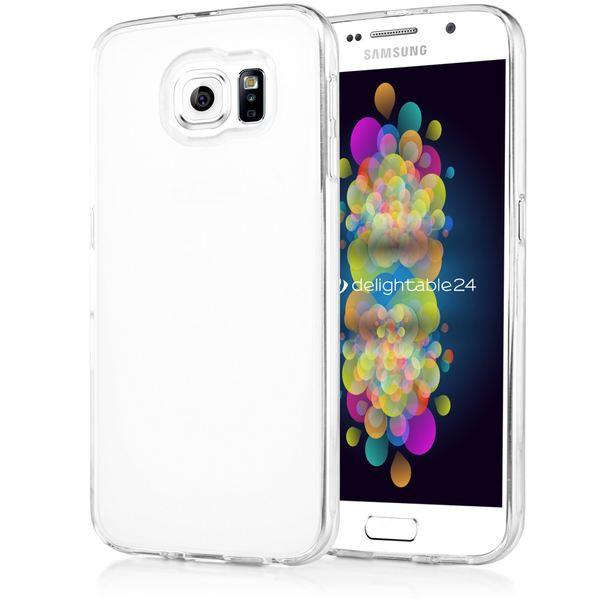 NALIA Handyhülle kompatibel mit Samsung Galaxy S7, Ultra-Slim Silikon Case Cover Hülle Crystal Schutzhülle Dünn Durchsichtig, Etui Handy-Tasche Schale Back-Cover Smart-Phone Bumper - Transparent – Bild 1