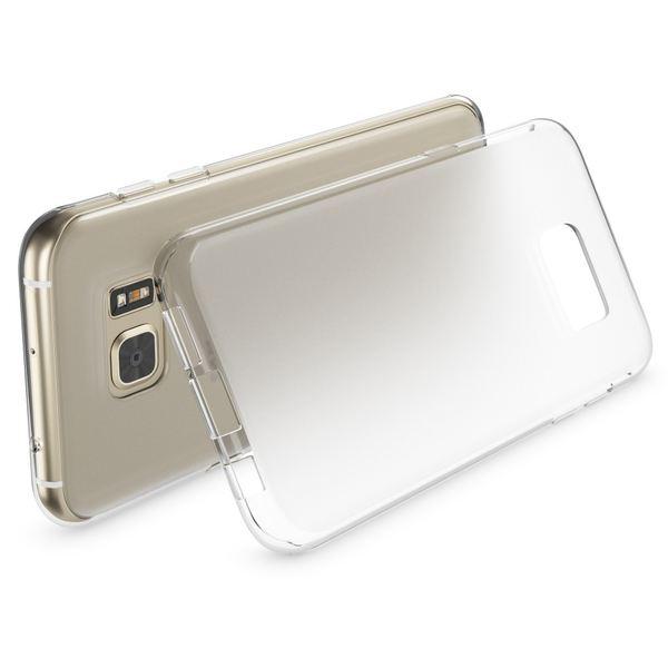 NALIA Handyhülle kompatibel mit Samsung Galaxy S7 Edge, Ultra-Slim Silikon Case Hülle, Dünne Crystal Schutzhülle Etui Handy-Tasche Back-Cover Bumper, TPU Smart-Phone Gummihülle - Transparent Weiß – Bild 3