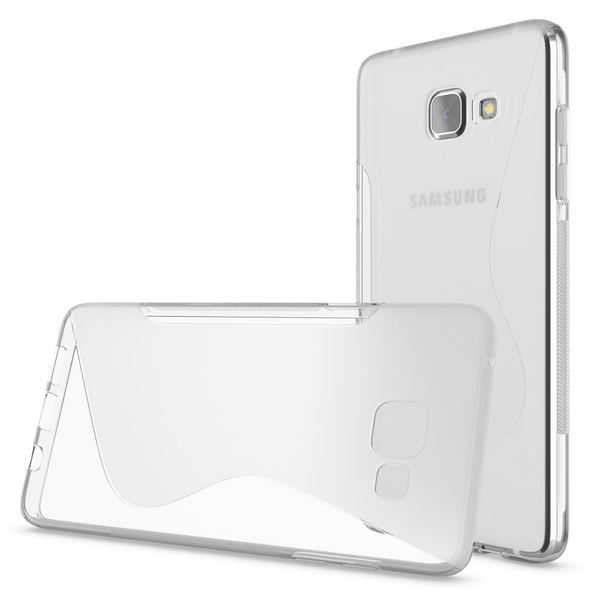 NALIA Handyhülle kompatibel mit Samsung Galaxy A5 2016, Ultra-Slim Silikon Case Hülle, Dünne Crystal Schutzhülle Etui Handy-Tasche Back-Cover Bumper, TPU Smart-Phone Gummihülle - S-Line Transparent – Bild 3