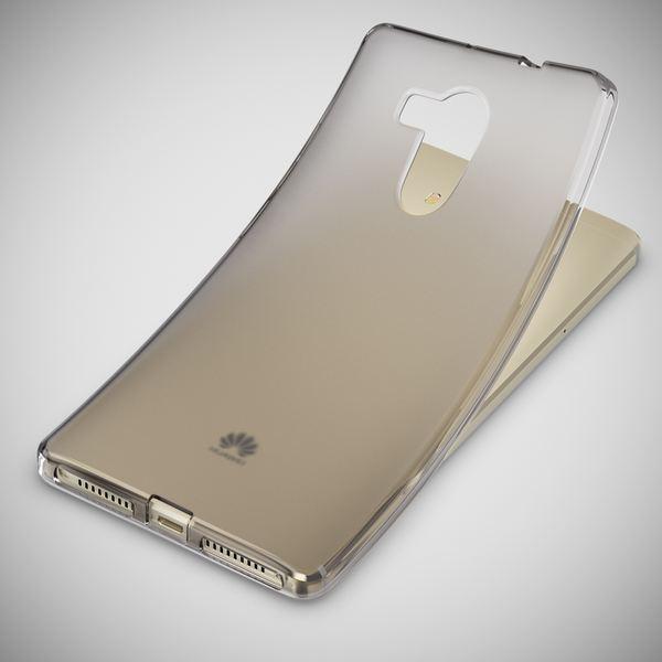 NALIA Handyhülle kompatibel mit Huawei Mate 8, Ultra-Slim Silikon Case Cover Dünn Crystal Schutz-Hülle, Etui Handy-Tasche Schale Back-Cover Bumper Soft TPU Thin Smart-Phone Gummi-Hülle - S-Line Grau – Bild 5
