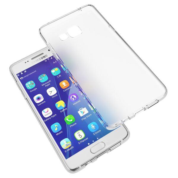 NALIA Handyhülle kompatibel mit Samsung Galaxy A3 2016, Ultra-Slim Silikon Case Hülle, Dünne Crystal Schutzhülle Etui Handy-Tasche Back-Cover Bumper, TPU Smart-Phone Gummihülle - Transparent Weiß – Bild 6